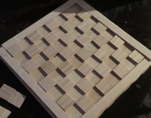 woodworking diy checkers board gift idea
