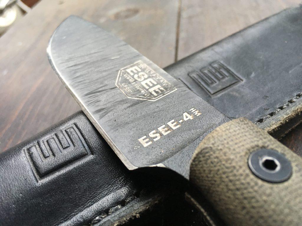 Esee 4HM blade coating