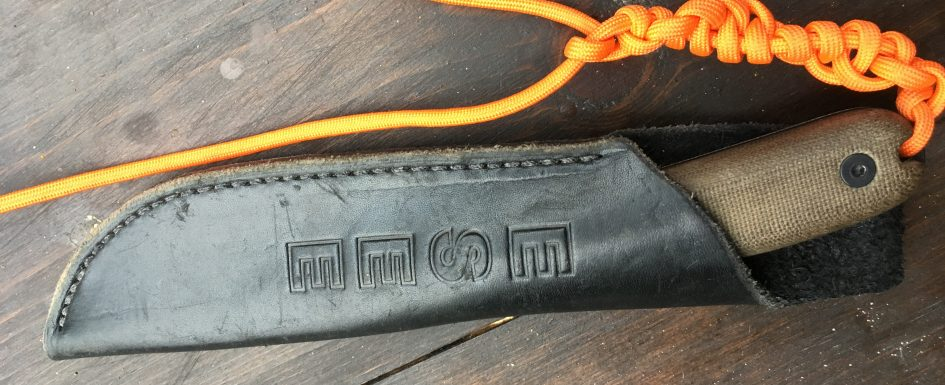 Esee 4HM with Sheath and Lanyard