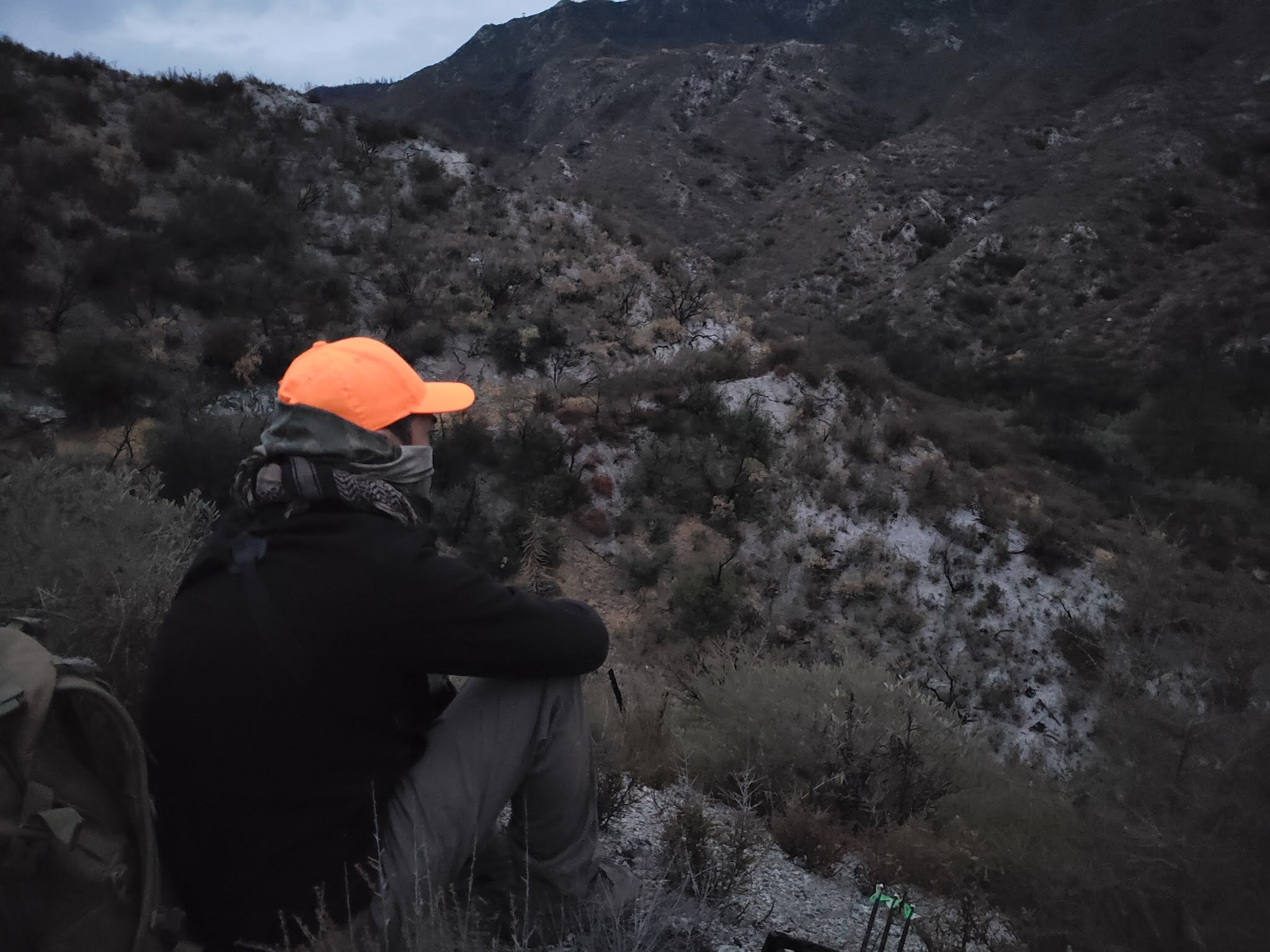 opening day hunter in angeles national forest