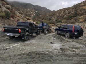 angeles national forest hunting trucks