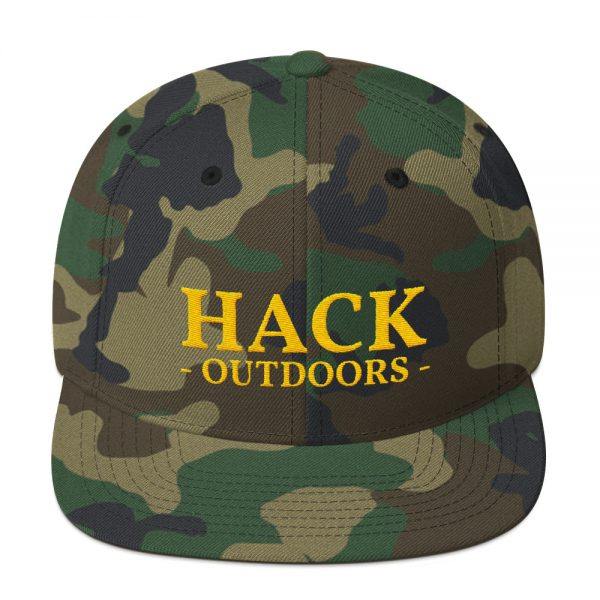 ed1c2c55ada71 Tiger Snapback Hat - Hack Outdoors