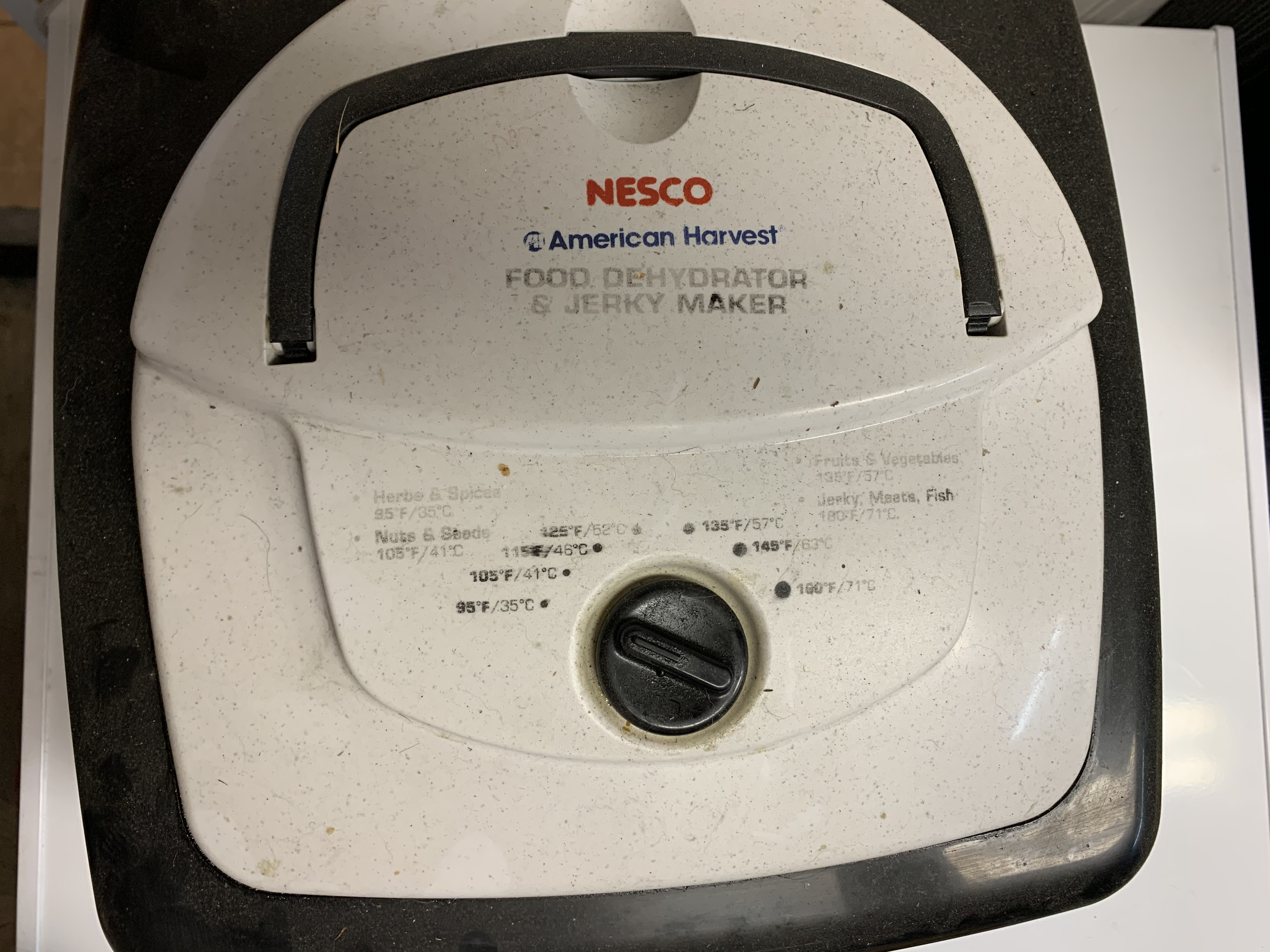 biltong in a nesco dehydrator