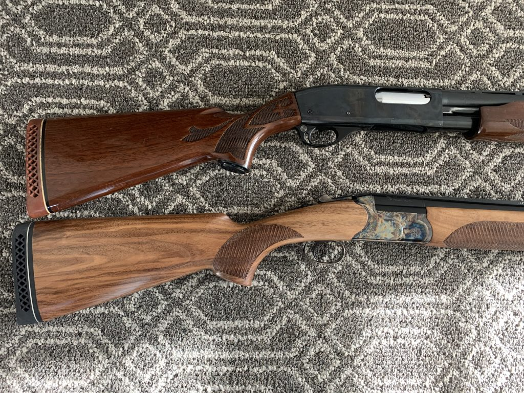 refinished cz woodcock g2 and a remington 760 gamemaster